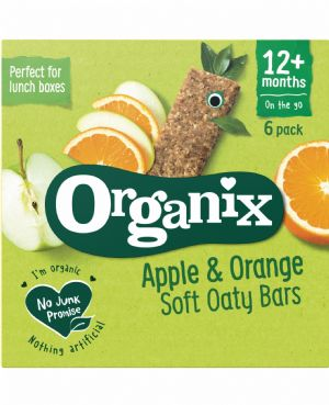 Apple & Orange Oaty Bars 6x30g